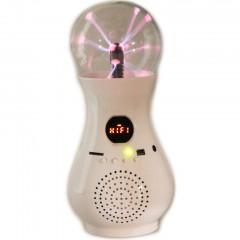 Аудио колонка плазма-лампа с FM радио SJ-523 (USB / MicroSD)