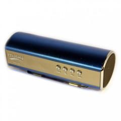 Портативная мини MP3 колонка Musky MK-85 с FM, USB, microSD