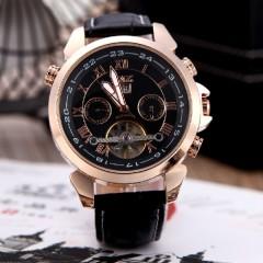 Уцененные мужские механические часы Jaragar турбийон (завода хватает на пол дня)