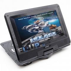 """Портативный DVD-плеер 10"""" Eplutus EP-1027T с цифровым TV-тюнером DVB-T2"""