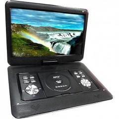 ДВД-плеер 16 дюймов с цифровым тюнером DVB-T2 - XPX EA-1669D (USB / TF / Game / 3D / FM)