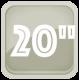 20 дюймов