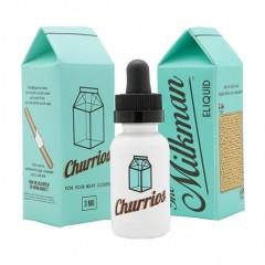 Жидкость MILKMAN CHURRIOS - Молоко и пончик с корицей (30 мл.) (0 мг., 3 мг.)