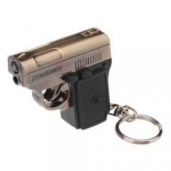Брелок-пистолет YT-811 - 2 в 1: светодиоднй фонарик + лазерная указка