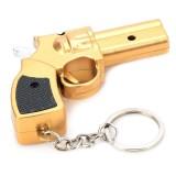 Брелок-револьвер 2 в 1: фонарик + указка