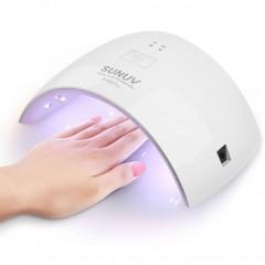 UV LED лампа (сушилка) SUNUV SUN9C Plus для шеллака (36 Вт) (для всех типов гель-лаков) + 3 лака в подарок!