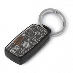 Цифровой брелок для поиска ключей срабатывающий на свист
