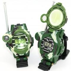 Детские часы с рацией WALKIE TALKIES 7-в-1 (2 шт.)