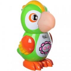 Интерактивная игрушка Умный попугай (43 стихотворения, 24 сказки, 15 песен, 10 скороговорок)