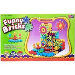 Развивающий конструктор Funny Bricks (Фанни Брикс) (81 деталь)