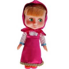 Интерактивная говорящая кукла Маша (100 фраз, 4 песни) из м/ф «Маша и медведь»
