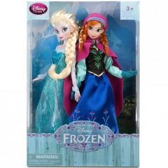 Комплект кукол для девочек - Эльза и Анна из мультфильма «Холодное сердце»