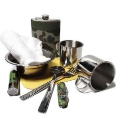 Подарочный набор туриста в чемоданчике (10 предметов)