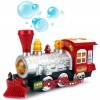 Поезд с музыкой, светом и мыльными пузырями