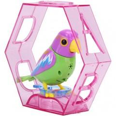 Электронная игрушка поющая птичка попугай (20 песен)