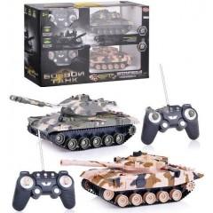 Интерактивная радиоуправляемая игра «Боевой танк» 9806