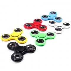 Игрушка-антистресс - ручной пластиковый спиннер (цветной)