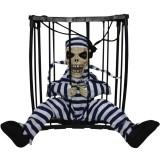 Сувенир-игрушка «Скелет в клетке»