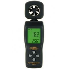Прибор для измерения скорости и температуры ветра (воздушного потока) - анемометр AS-816