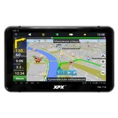 Отличный бюджетный автомобильный GPS навигатор XPX PM-714 - 7 дюймов