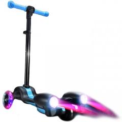 Детский самокат-ракета с турбинами, паром и звуком (от 2-х лет)