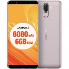 "Смартфон Ulefone Power 3 (6 ГБ + 64 ГБ / 2 SIM / Face ID / 21MP) 6"""