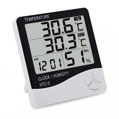 Термометр HTC-2 PRO (температура + влажность + время)