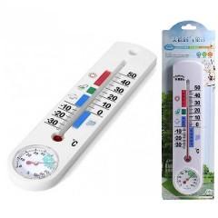 Спиртовой настенный термометр-гигрометр G337