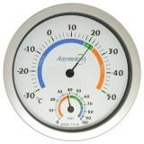 Большой термометр-гигрометр TH-2F Ø 20 см.