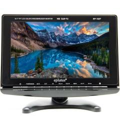Цифровой телевизор 10 дюймов EPLUTUS EP-102T (DVB-T2)