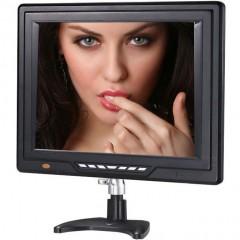 """LCD телевизор/монитор 12,4"""" A&V DA-148 с функцией 3D видео (USB / TF)"""