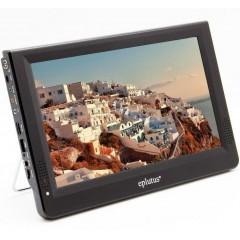 "Переносной цифровой телевизор 12"" Eplutus EP-120T (DVB-T2) (USB / HDMI / SD)"