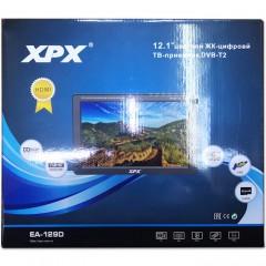 Цифровой телевизор 12.1 дюйм XPX EA-129D с аккумулятором