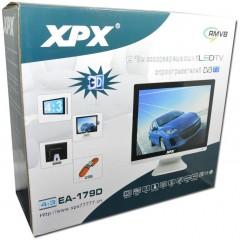 """Цифровой 3D телевизор 17"""" XPX EA-179D с DVD-плеером и тюнером DVB-T2"""