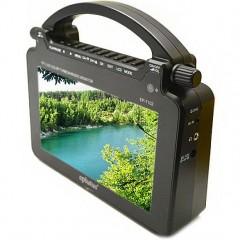 """Переносной мини-телевизор 7"""" с удобной ручкой Eplutus EP-7102 (FM / USB / TF)"""