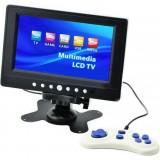 Цифровой мини-телевизор LCD TV 701G (USB / TF / Game)