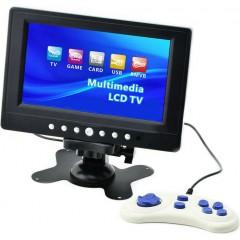 Мини-телевизор LCD TV 701G с цифровым TV тюнером и поддержкой игр