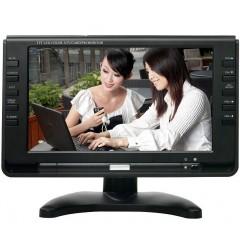 "Переносной мини телевизор XPX EA-909 DVB-T2 9"" (TV / AV / FM / USB / TF)"