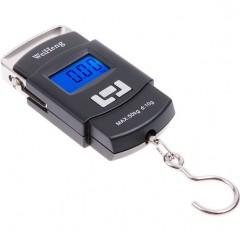 Портативный электронный безмен WeiHeng до 50 кг.