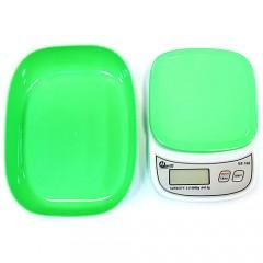 Кухонные электронные весы QZ-158 с мерной чашей (0.5 гр. x 5 кг.)