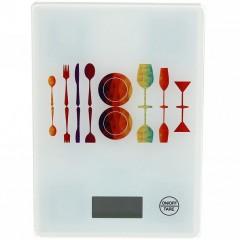 Стеклянные пищевые кухонные весы LBS-6032 (1 гр. x 5 кг.)