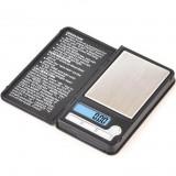 Карманные весы Notebook Mini 8038 (0.01-200 гр.)