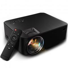 LED проектор T20 (1500 люмен / Android / Bluetooth / WI-FI / USB / HDMI / SD / AV / VGA)