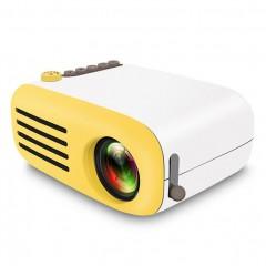 Карманный мини проектор YG-200 (USB / MicroSD / HDMI / AV)