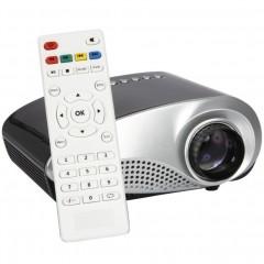 Портативный мультимедийный мини-проектор H60 (TV / USB / SD / HDMI / VGA)