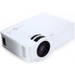 Мультимедийный портативный мини LED проектор H909 (SD-карта / USB / HDMI / AV)