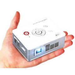 Карманный мини проектор DLP C2W (Full HD / HDMI / USB)