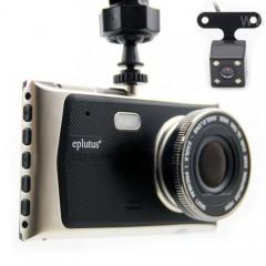 Видеорегистратор Eplutus DVR-939 (2 камеры: дорога + задний вид)