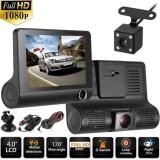 """Видеорегистратор XPX P9 (3 камеры) 4"""""""