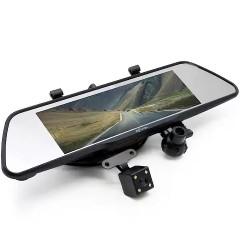 "Видеорегистратор зеркало Eplutus D83 8"" (3 камеры) (Android / Navitel)"